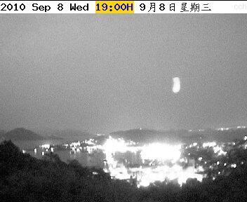 网友拍UFO HK